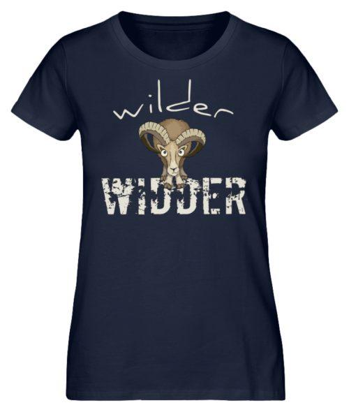 Wilder Widder | Mufflon Cooles Wild-Schaf - Damen Premium Organic Shirt-6887