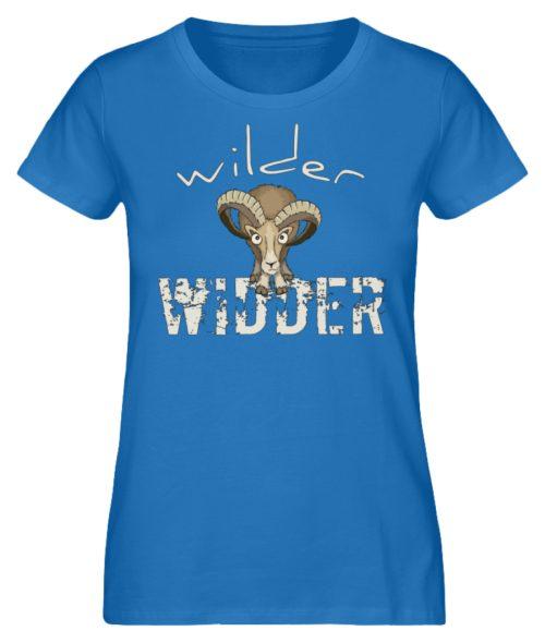 Wilder Widder | Mufflon Cooles Wild-Schaf - Damen Premium Organic Shirt-6886
