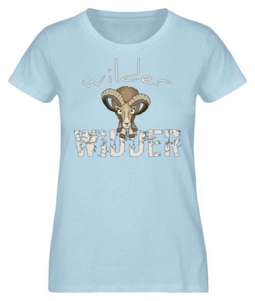 Wilder Widder | Mufflon Cooles Wild-Schaf - Damen Premium Organic Shirt-6888