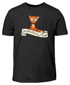 Oh For Fox Sake - Um Fuchses Willen - Kinder T-Shirt-16