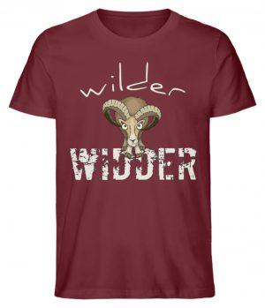 Wilder Widder | Mufflon Cooles Wild-Schaf - Herren Premium Organic Shirt-6883