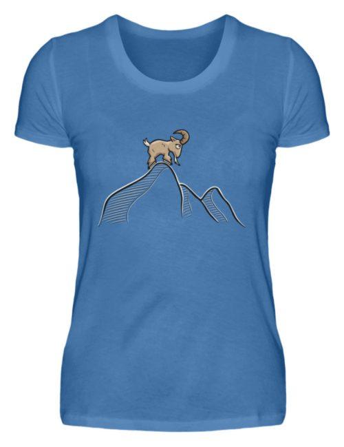 Ziegenbock in den Bergen - Damen Premiumshirt-2894