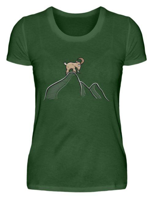 Ziegenbock in den Bergen - Damen Premiumshirt-2936