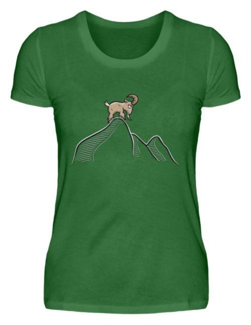 Ziegenbock in den Bergen - Damen Premiumshirt-30