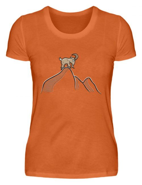 Ziegenbock in den Bergen - Damen Premiumshirt-2953