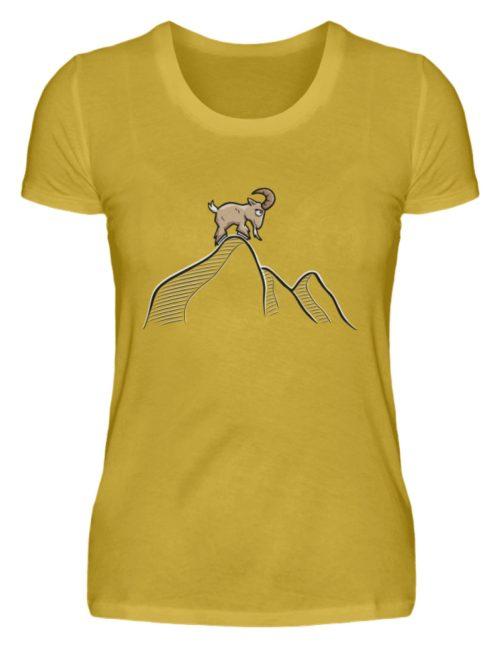Ziegenbock in den Bergen - Damen Premiumshirt-2980