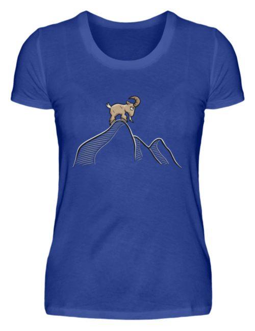 Ziegenbock in den Bergen - Damen Premiumshirt-27