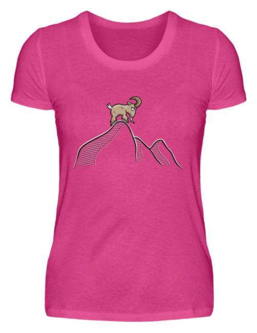 Ziegenbock in den Bergen - Damen Premiumshirt-28