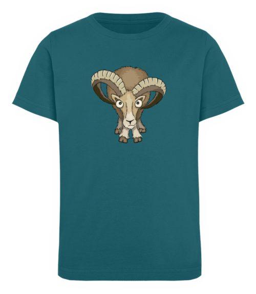 Bockiges Mufflon Widder Schafbock - Kinder Organic T-Shirt-6889