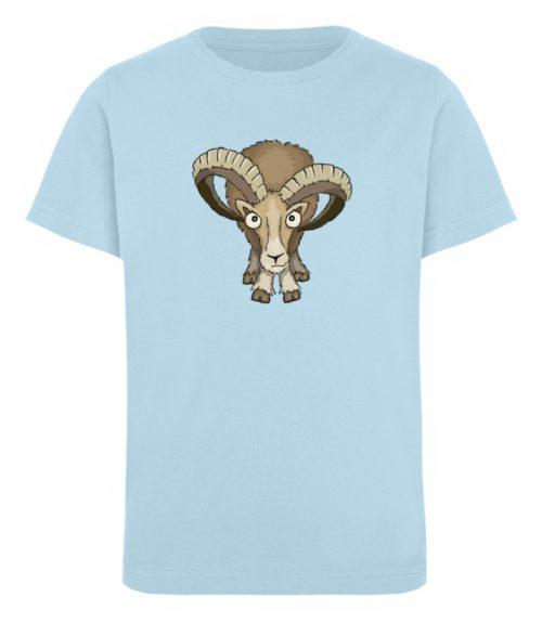 Bockiges Mufflon Widder Schafbock - Kinder Organic T-Shirt-6888