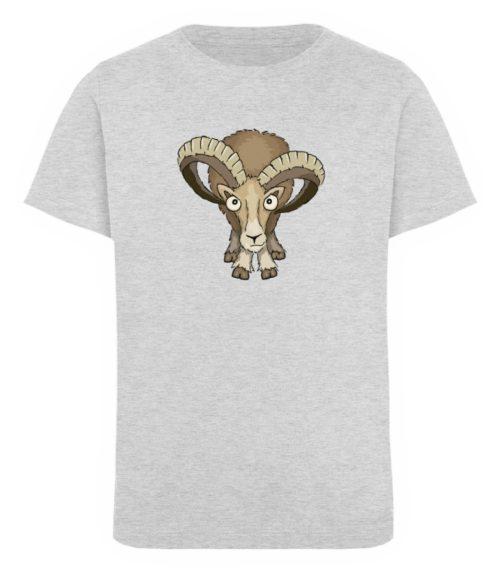 Bockiges Mufflon Widder Schafbock - Kinder Organic T-Shirt-6892