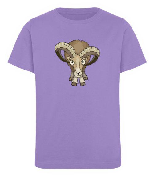 Bockiges Mufflon Widder Schafbock - Kinder Organic T-Shirt-6904