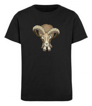 Bockiges Mufflon Widder Schafbock - Kinder Organic T-Shirt-16