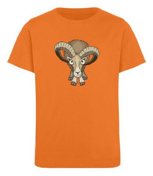 Bockiges Mufflon Widder Schafbock - Kinder Organic T-Shirt-6902
