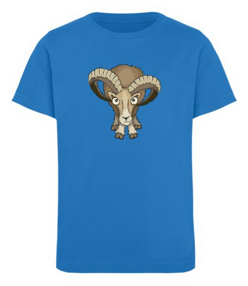 Bockiges Mufflon Widder Schafbock - Kinder Organic T-Shirt-6886