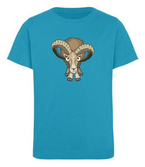 Bockiges Mufflon Widder Schafbock - Kinder Organic T-Shirt-6885