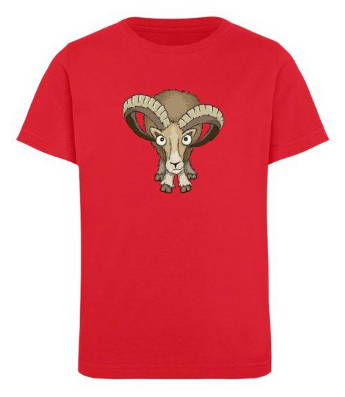 Bockiges Mufflon Widder Schafbock - Kinder Organic T-Shirt-6882