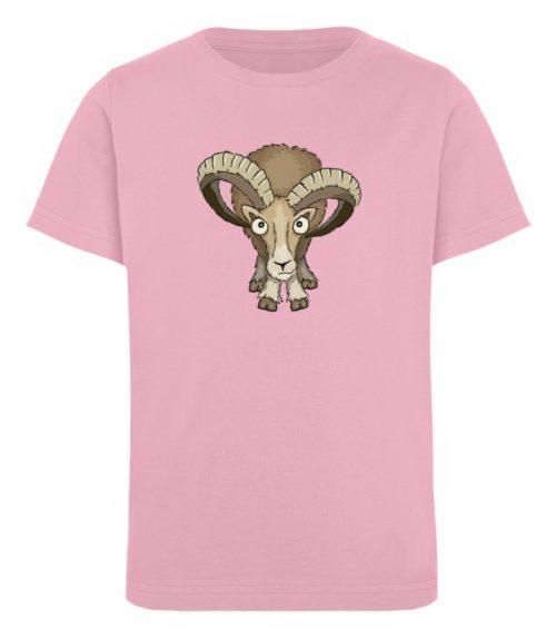 Bockiges Mufflon Widder Schafbock - Kinder Organic T-Shirt-6903