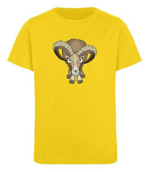 Bockiges Mufflon Widder Schafbock - Kinder Organic T-Shirt-6905