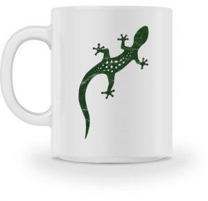 Eidechse Gecko Salamander Tasse - Tasse-3