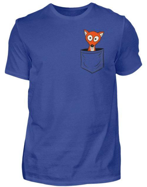 Fuchs in der Brusttasche | Taschen-Fuchs - Herren Shirt-668