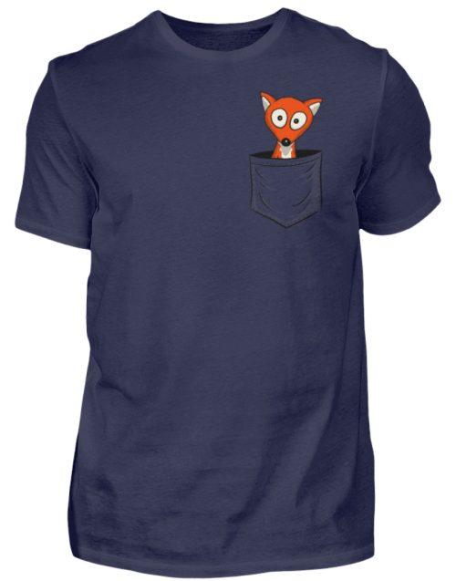 Fuchs in der Brusttasche | Taschen-Fuchs - Herren Shirt-198