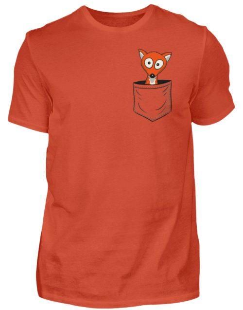 Fuchs in der Brusttasche | Taschen-Fuchs - Herren Shirt-1236