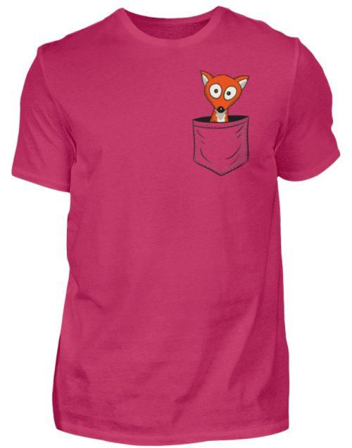 Fuchs in der Brusttasche | Taschen-Fuchs - Herren Shirt-1216