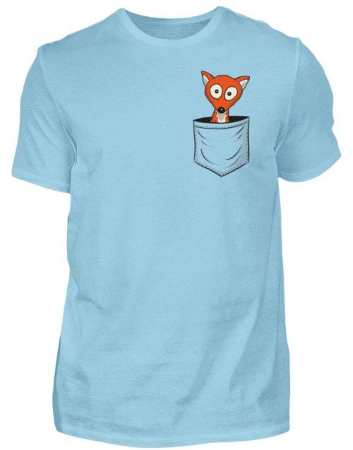 Fuchs in der Brusttasche | Taschen-Fuchs - Herren Shirt-674