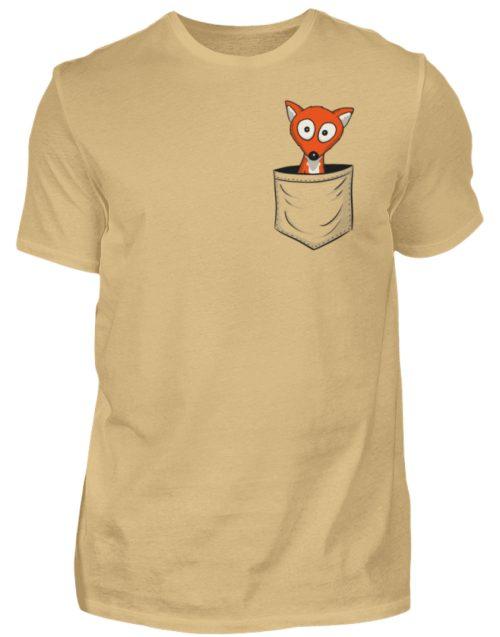 Fuchs in der Brusttasche | Taschen-Fuchs - Herren Shirt-224