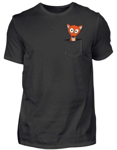 Fuchs in der Brusttasche | Taschen-Fuchs - Herren Shirt-16