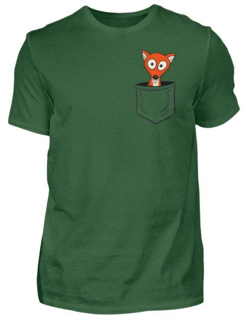 Fuchs in der Brusttasche | Taschen-Fuchs - Herren Shirt-833