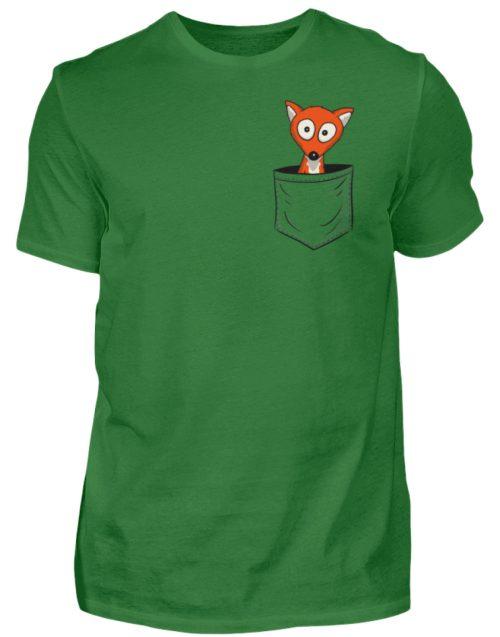Fuchs in der Brusttasche | Taschen-Fuchs - Herren Shirt-718