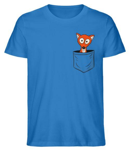 Fuchs in der Brusttasche | Taschen-Fuchs - Herren Premium Organic Shirt-6886