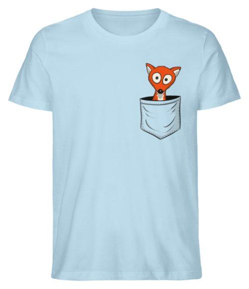 Fuchs in der Brusttasche | Taschen-Fuchs - Herren Premium Organic Shirt-6888