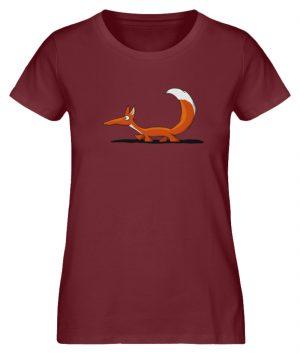 Lässiger cooler Fuchs | Mr. Fox, der Schleicher - Damen Premium Organic Shirt-6883