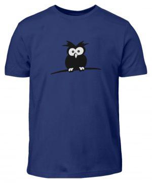struppige Eule - das Shirt ist ein Muß für alle aufgeweckten Eulen-Fans - Kinder T-Shirt-1115