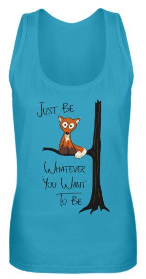Just Be Whatever | Fuchs wie Eule - Frauen Tanktop-3175