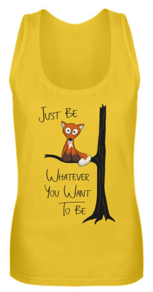 Just Be Whatever | Fuchs wie Eule - Frauen Tanktop-3201