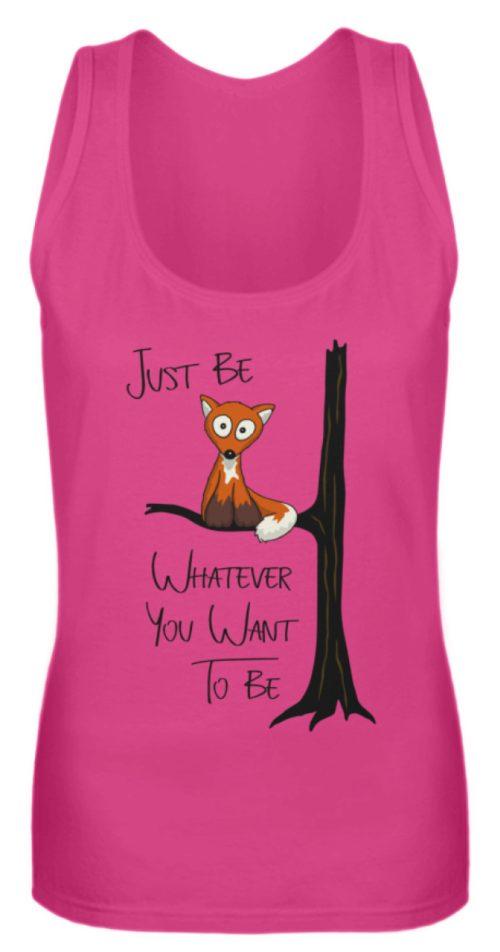 Just Be Whatever | Fuchs wie Eule - Frauen Tanktop-28