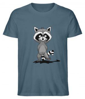 Frecher kleiner Waschbär - Herren Premium Organic Shirt-6895