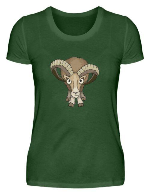 Bockiges Mufflon Widder Schafbock - Damen Premiumshirt-2936
