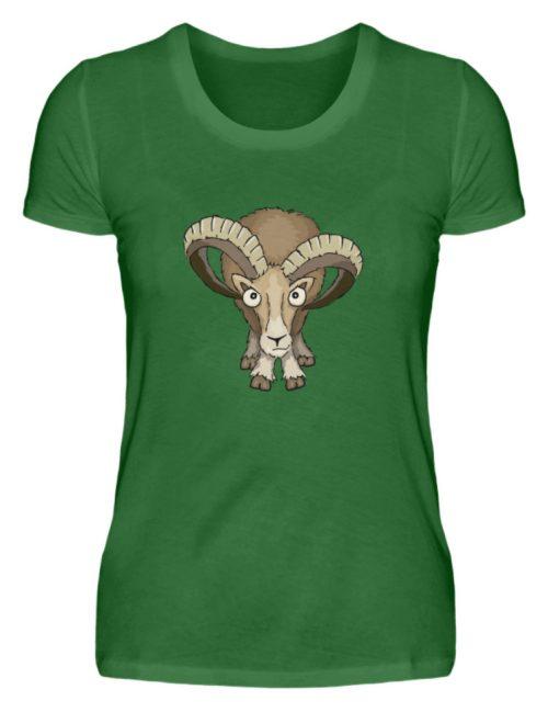 Bockiges Mufflon Widder Schafbock - Damen Premiumshirt-30