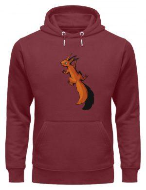 Süßes Eichhörnchen - Unisex Organic Hoodie-6883