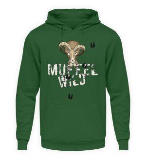 Muffel Wild Mufflon - Unisex Kapuzenpullover Hoodie-833