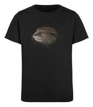 Otter Bleistift Zeichnung Kritzel-Kunst - Kinder Organic T-Shirt-16