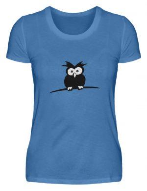 struppige Eule - das Shirt ist ein Muß für alle aufgeweckten Eulen-Fans - Damen Premiumshirt-2894