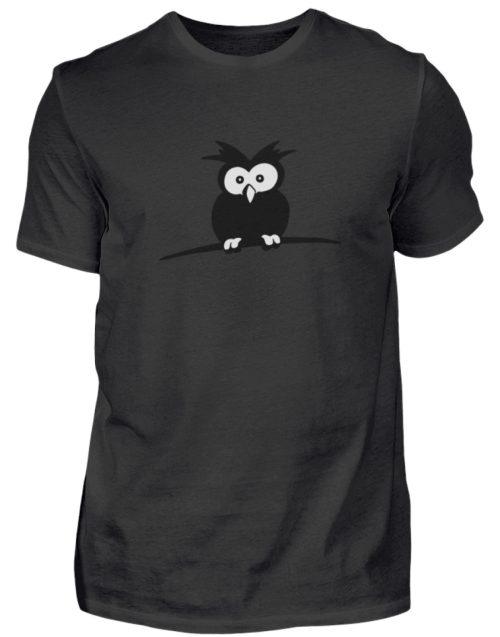 struppige Eule - das Shirt ist ein Muß für alle aufgeweckten Eulen-Fans - Herren Shirt-16