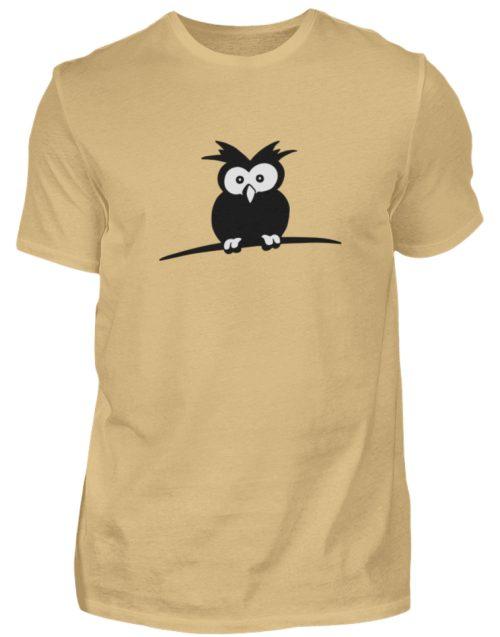 struppige Eule - das Shirt ist ein Muß für alle aufgeweckten Eulen-Fans - Herren Shirt-224