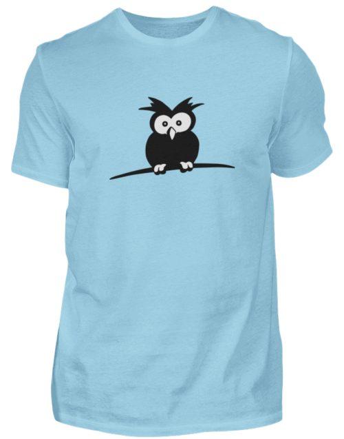 struppige Eule - das Shirt ist ein Muß für alle aufgeweckten Eulen-Fans - Herren Shirt-674